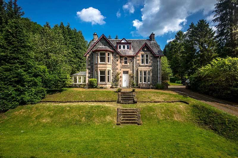 7 Bedrooms Detached House for sale in Crannaig House, Trossachs Road, Aberfoyle, Stirling, FK8