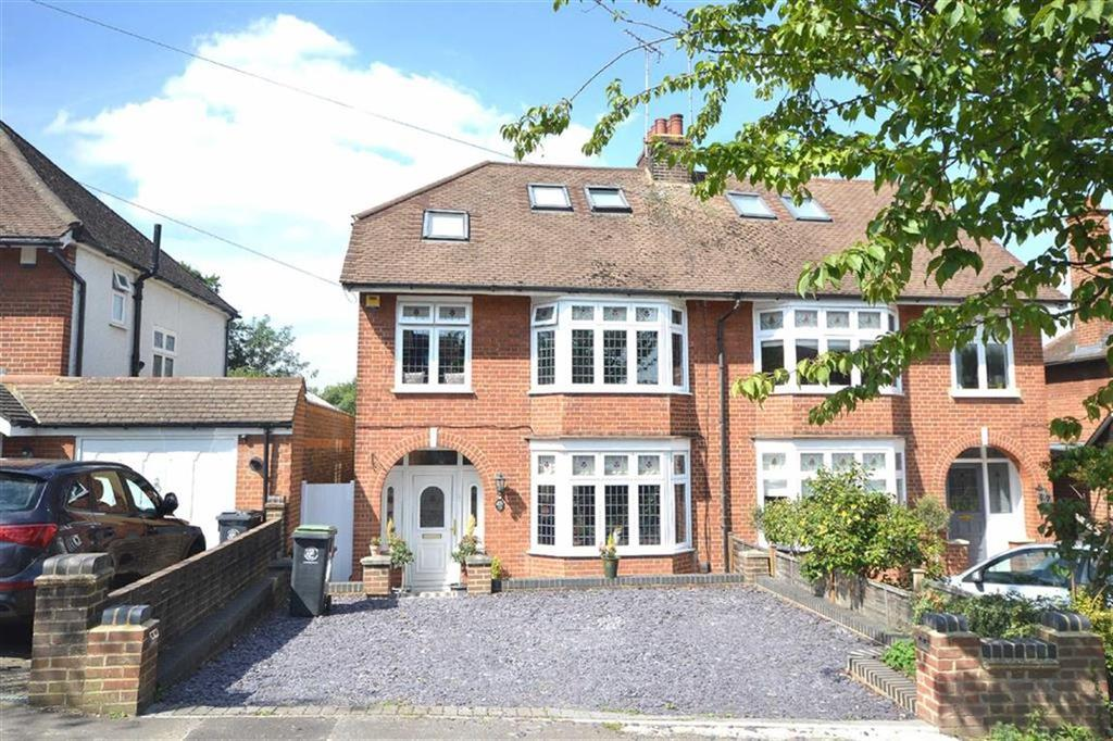 4 Bedrooms Semi Detached House for sale in Blackacre Road, Theydon Bois, Essex