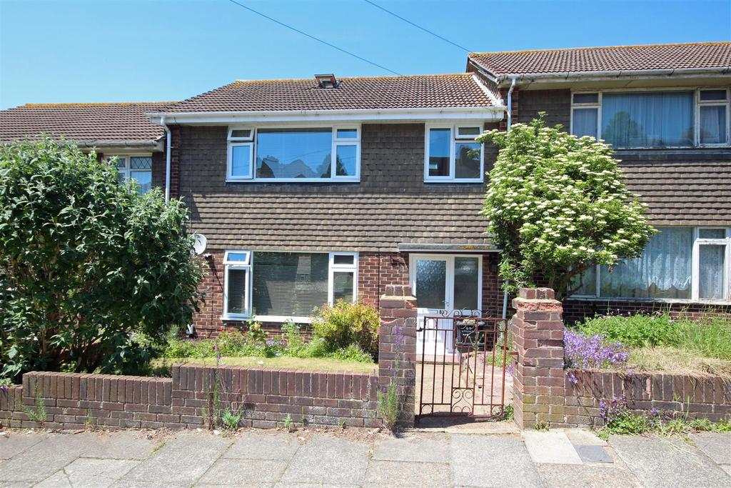 3 Bedrooms Terraced House for sale in Lyminster Avenue, Hollingbury, Brighton