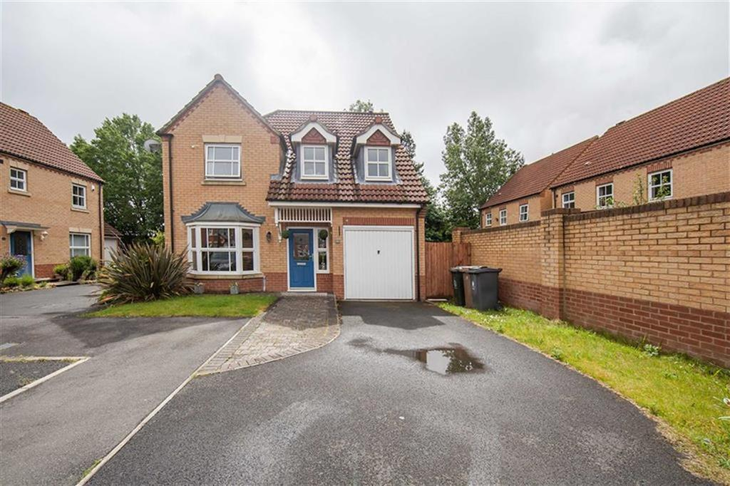 4 Bedrooms Detached House for sale in Backworth Court, Northumberland Park, Newcastle Upon Tyne, NE27
