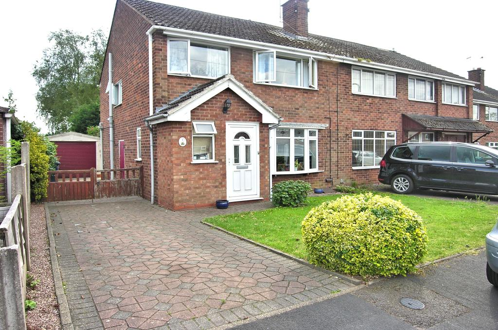 3 Bedrooms Semi Detached House for sale in CAMBORNE CLOSE, WEEPING CROSS, STAFFORD ST17