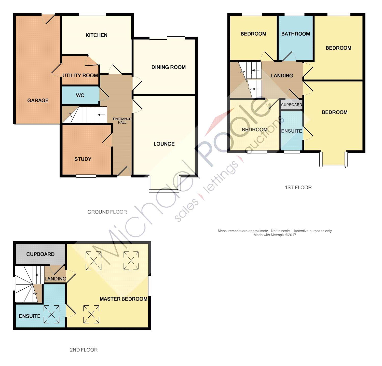 apsley way ingleby barwick 5 bed detached house 219 950