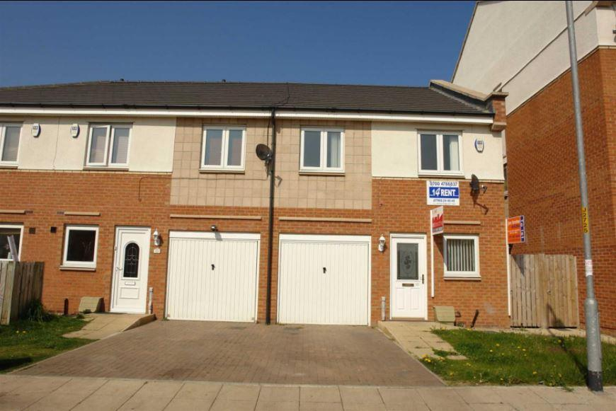 3 Bedrooms Terraced House for sale in Bittern Close, Gateshead