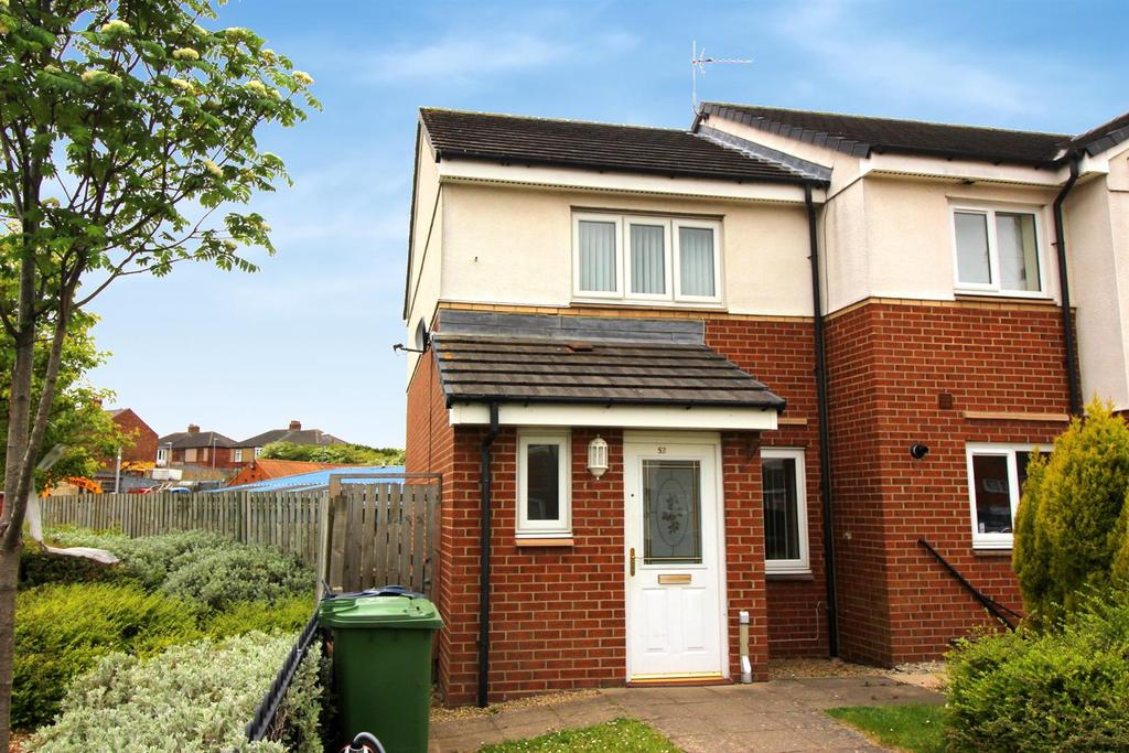 2 Bedrooms Terraced House for sale in Bittern Close, Dunston, Gateshead