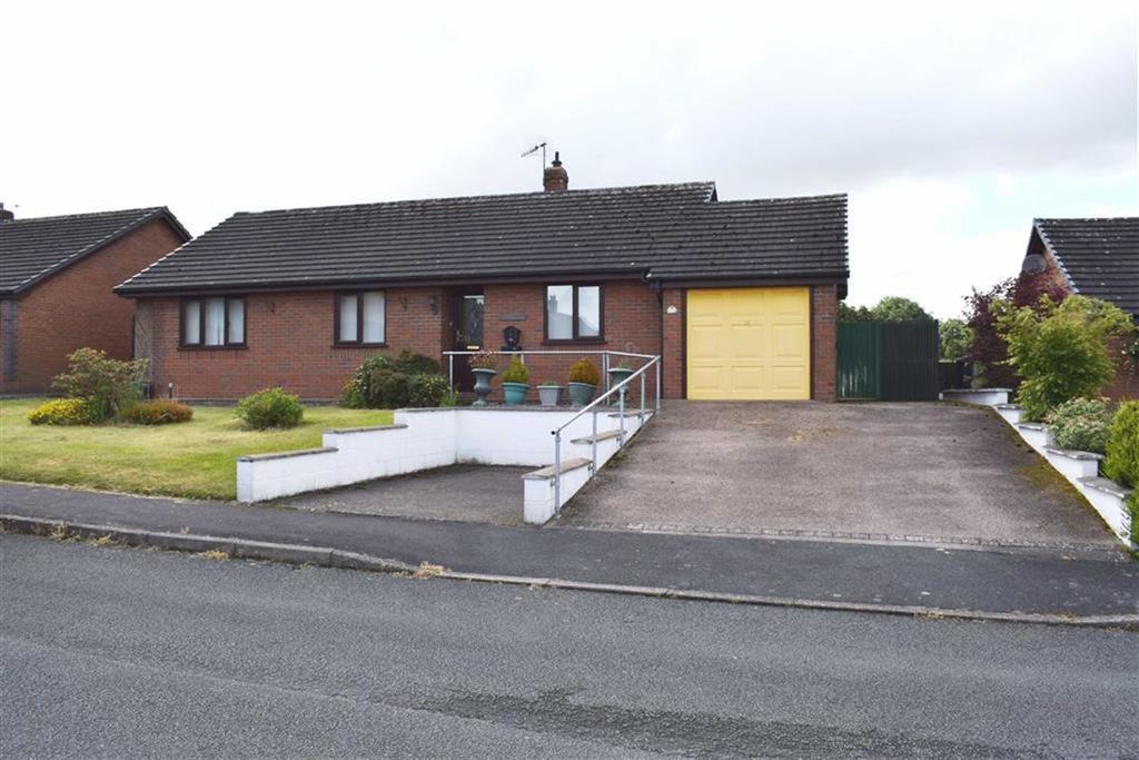 3 Bedrooms Detached Bungalow for sale in 3, Ffordd Newydd, Bettws Cedewain, Newtown, Powys, SY16
