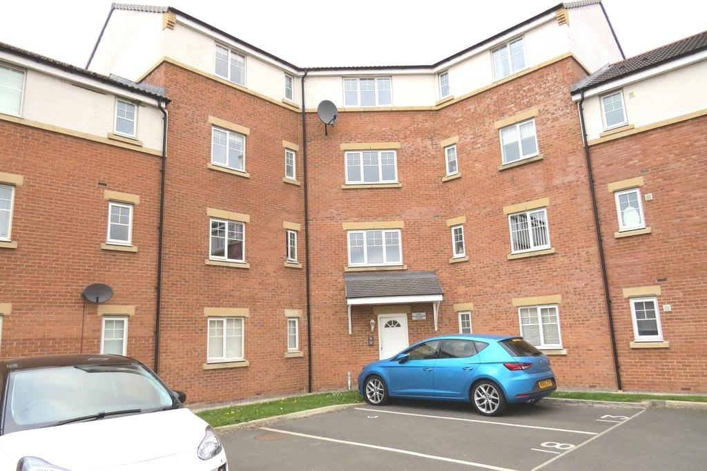 2 Bedrooms Apartment Flat for sale in Blanchland Court, Ashington