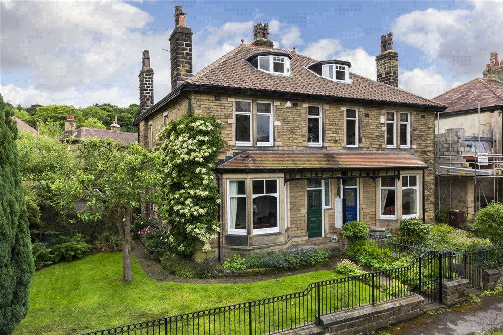 4 Bedrooms Semi Detached House for sale in Wheatley Avenue, Ben Rhydding, Ilkley, West Yorkshire