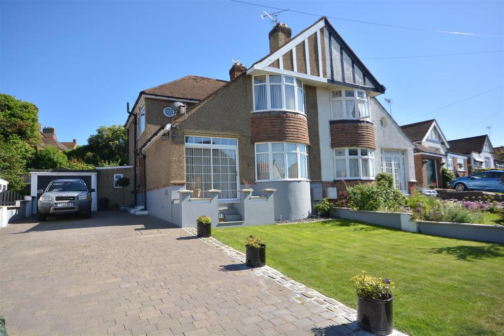 3 Bedrooms Semi Detached House for sale in Tudor Avenue, St. Leonards-On-Sea