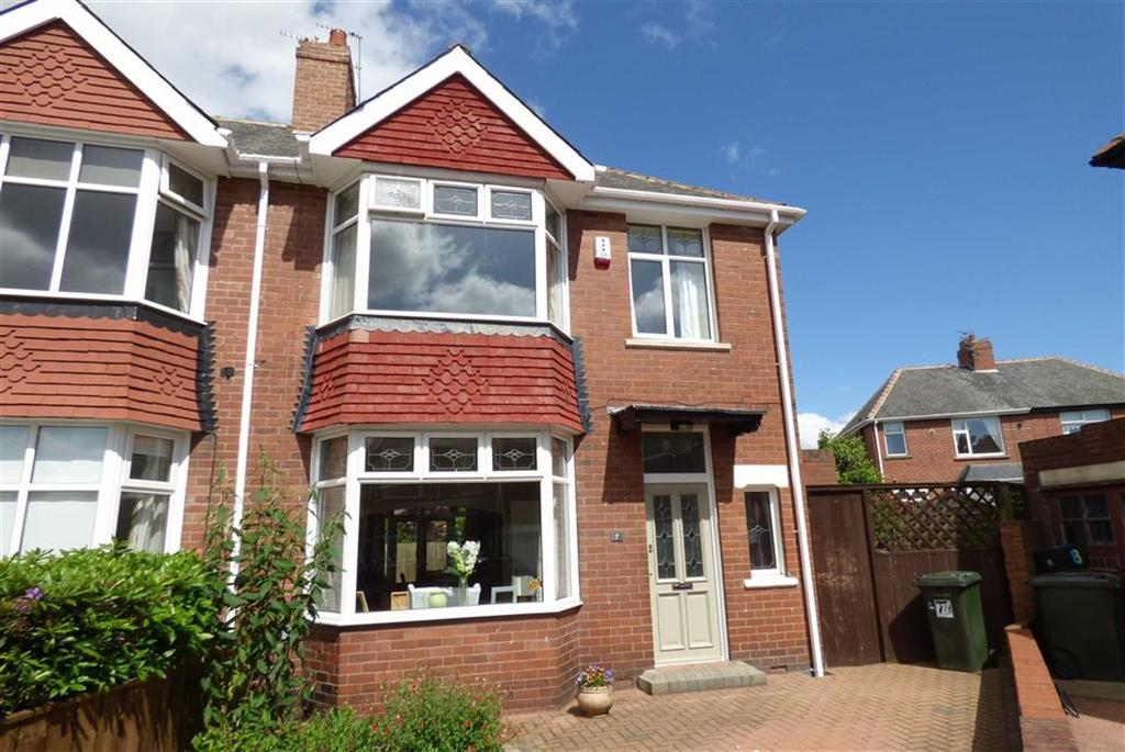 3 Bedrooms Semi Detached House for sale in Kensington Grove, North Shields