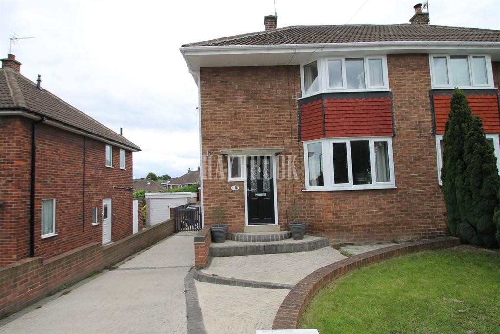 2 Bedrooms Semi Detached House for sale in Blackmoor Crescent, Brinsworth