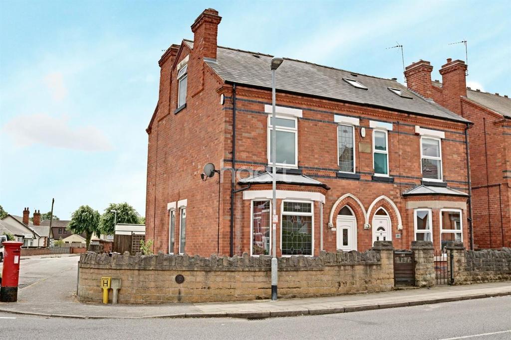 3 Bedrooms Semi Detached House for sale in Derbyshire Lane, Hucknall