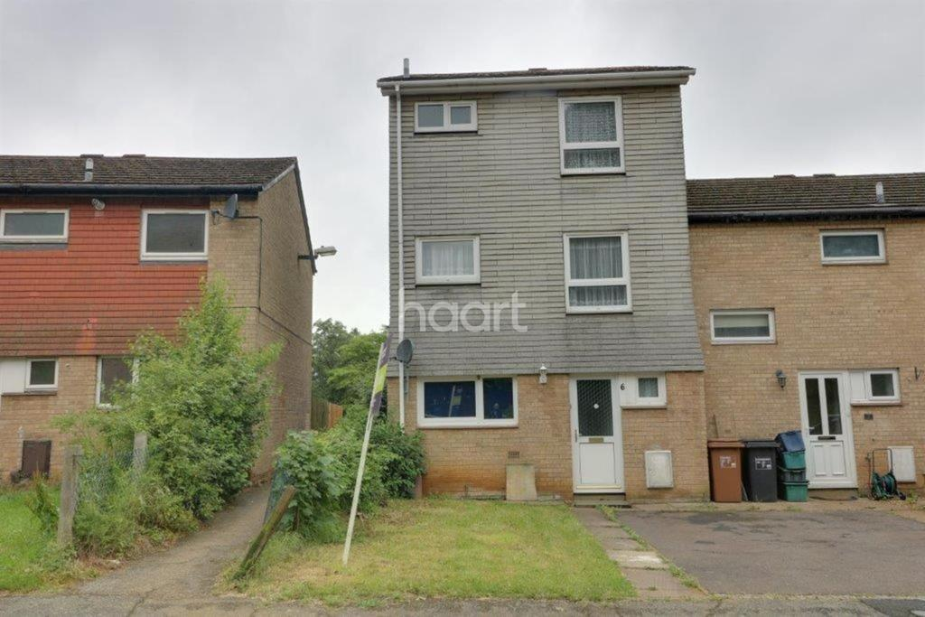 4 Bedrooms End Of Terrace House for sale in Brackenfield Square, Northampton