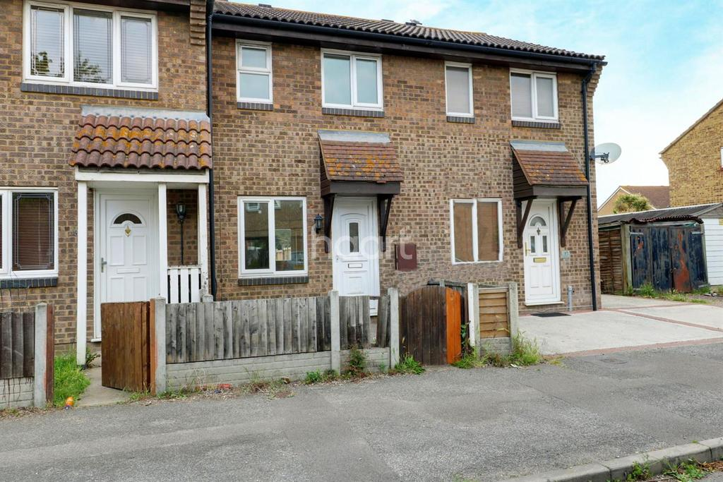 2 Bedrooms Terraced House for sale in Thackeray Avenue, Tilbury, RM18