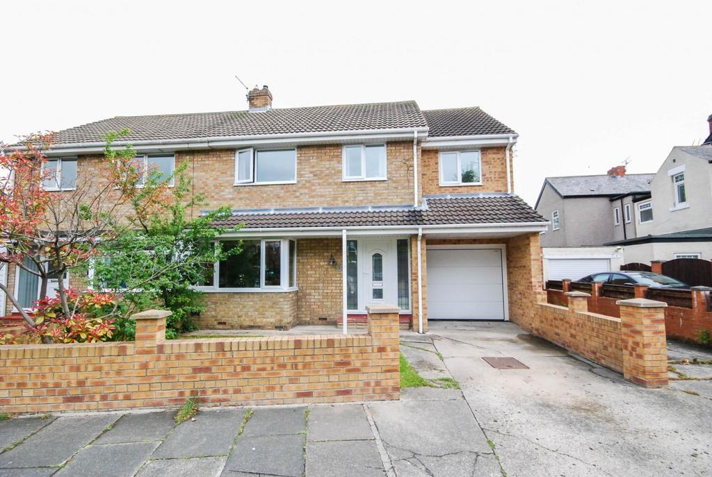 4 Bedrooms Semi Detached House for sale in Bywell Road, Cleadon