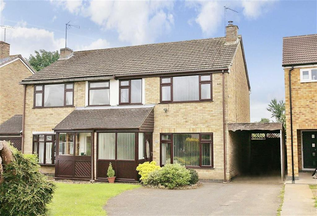 3 Bedrooms Semi Detached House for sale in Stanwell Drive, Middleton Cheney