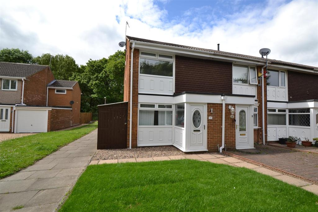 2 Bedrooms End Of Terrace House for sale in Witton Drive, Spennymoor