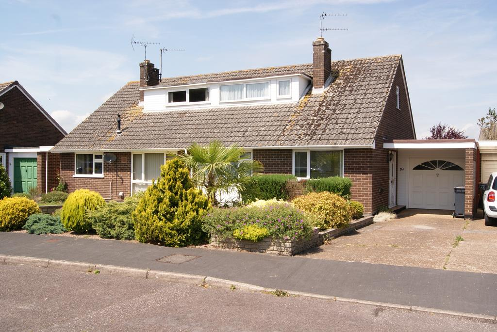 3 Bedrooms Semi Detached Bungalow for sale in Vinnicombes Road, Stoke Canon EX5