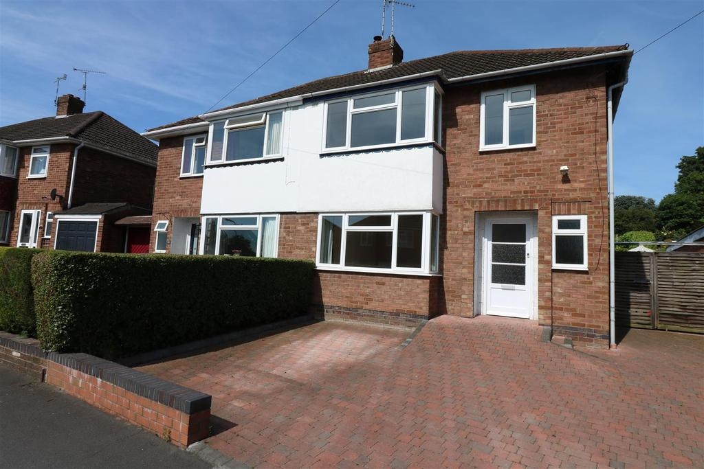 3 Bedrooms Semi Detached House for sale in Cliffe Way, Warwick