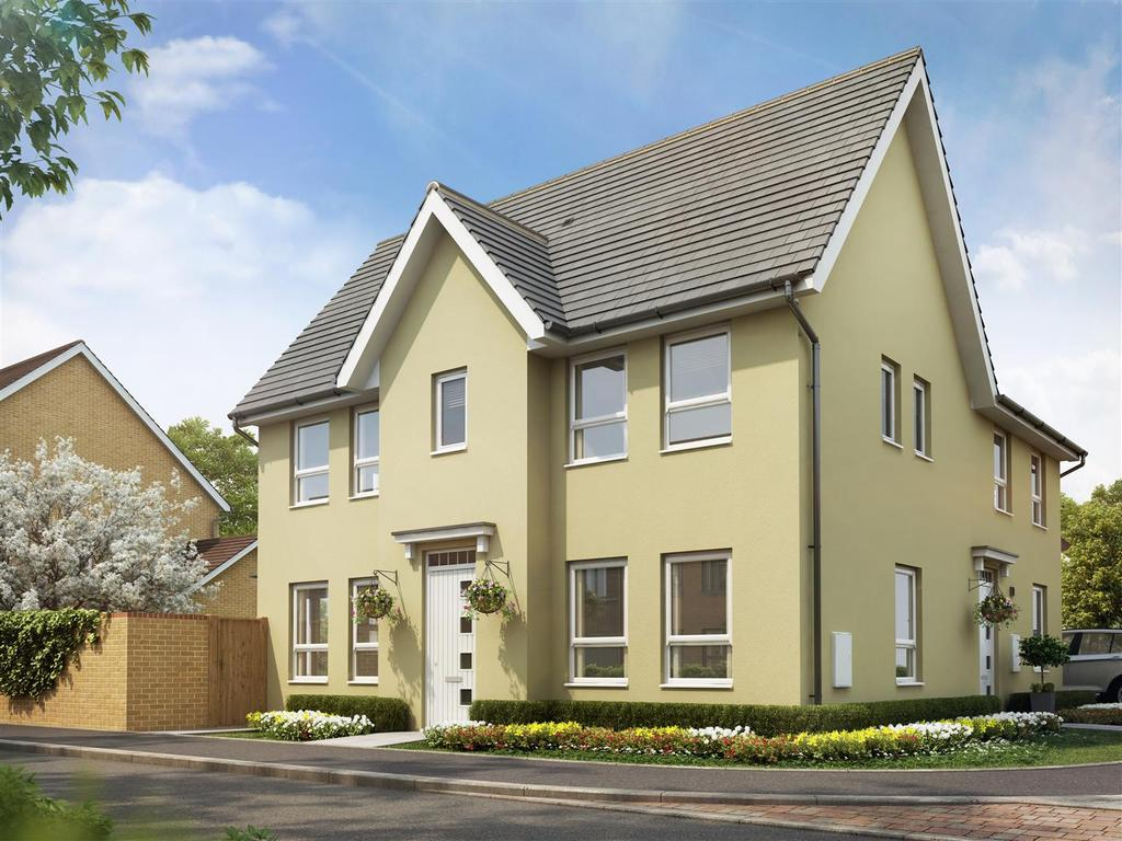 3 Bedrooms House for sale in Plot 236, Saxon Fields, Cullompton