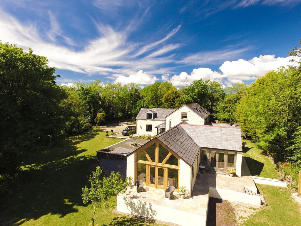 4 Bedrooms Detached House for sale in Cottleys Barn, Wiston, Haverfordwest, Pembrokeshire