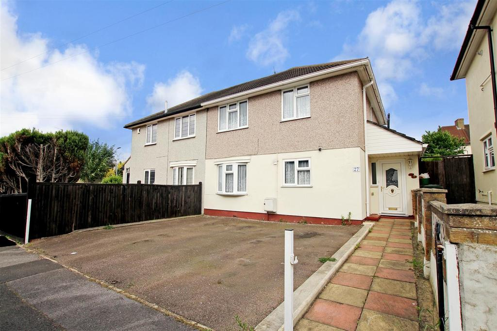 3 Bedrooms Semi Detached House for sale in Heath Road, Crayford