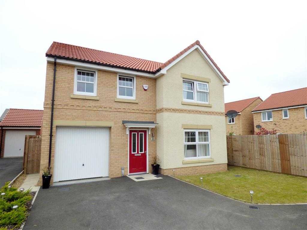 4 Bedrooms Detached House for sale in Auckland Close, Signet Grange, Houghton-Le-Spring