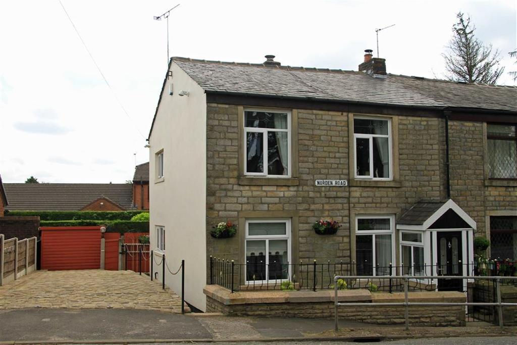 3 Bedrooms Cottage House for sale in Wheelbarrow Cottage, 168, Norden Road, Bamford, Rochdale, OL11
