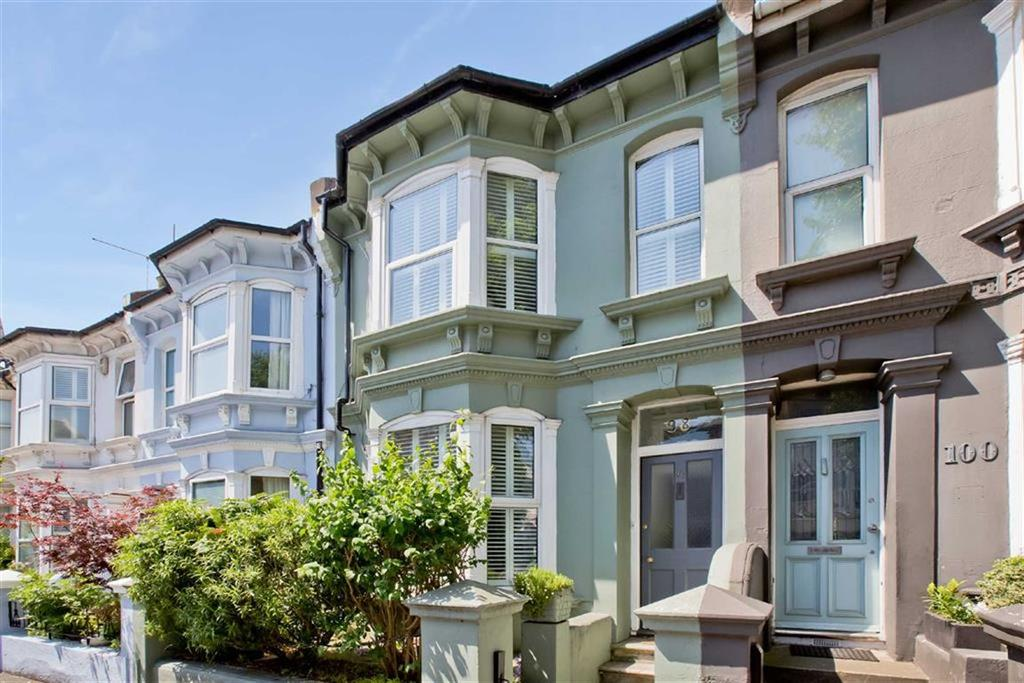 2 Bedrooms Terraced House for sale in Sackville Road, Hove, East Sussex