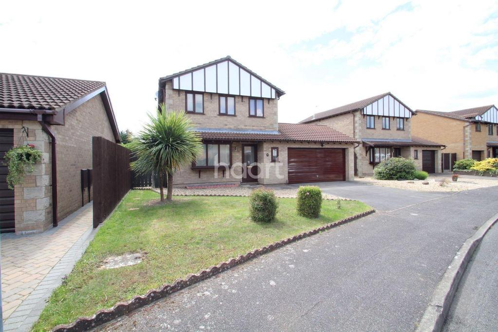4 Bedrooms Detached House for sale in Ashworth Close, Lincoln