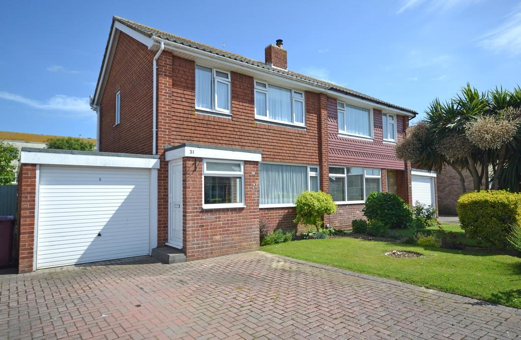 3 Bedrooms Semi Detached House for sale in Broad View, Selsey, PO20