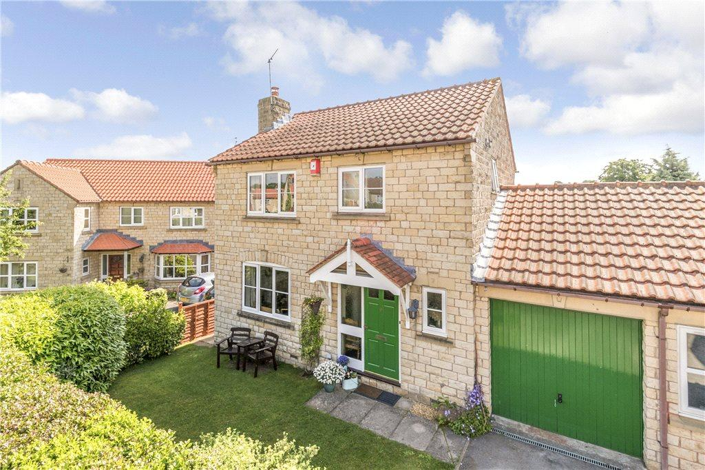 3 Bedrooms Link Detached House for sale in Milnthorpe Way, Bramham, Wetherby, West Yorkshire