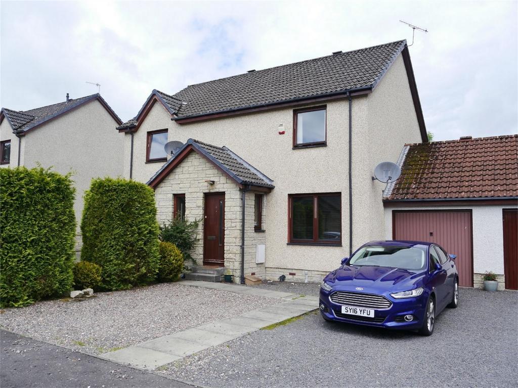2 Bedrooms Semi Detached House for sale in 4 Auld Mart Lane, Milnathort, Kinross-shire