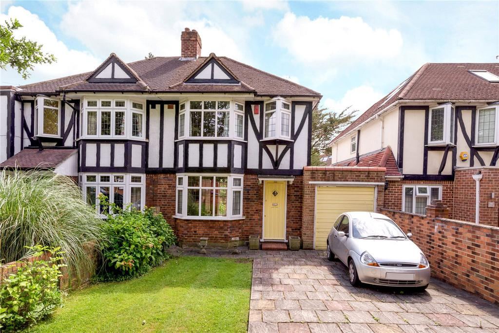 3 Bedrooms Semi Detached House for sale in Coombe Lane, London, SW20