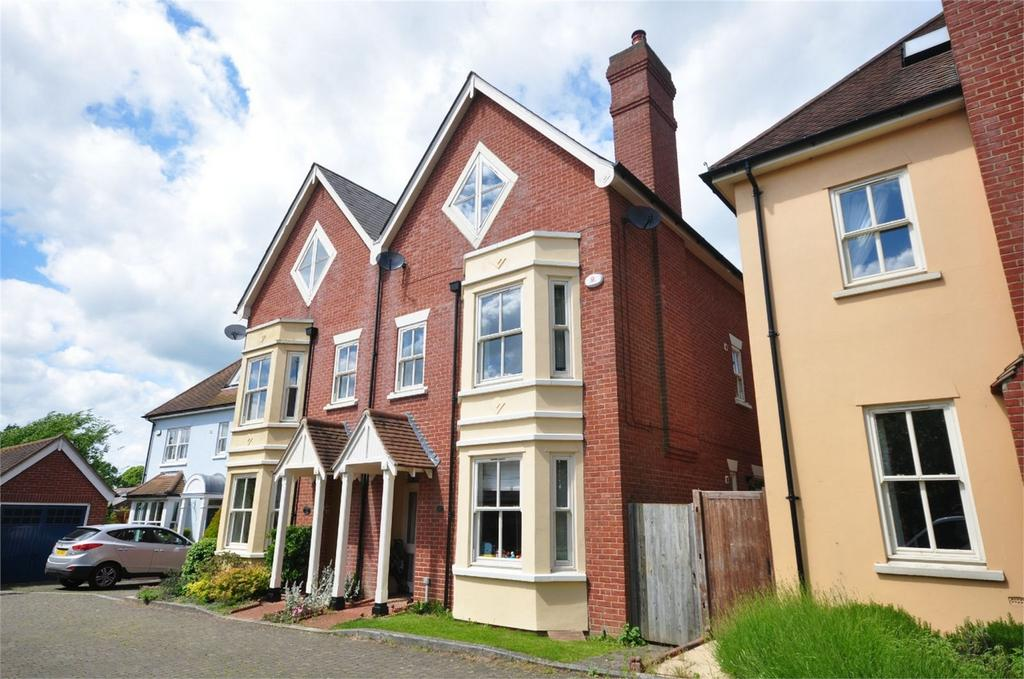 4 Bedrooms Semi Detached House for sale in 8 Sanders Close, Stansted