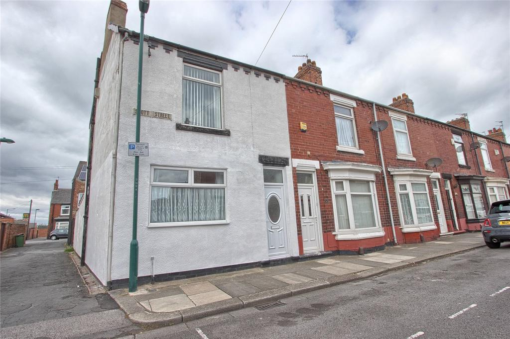 3 Bedrooms End Of Terrace House for sale in Scott Street, Redcar