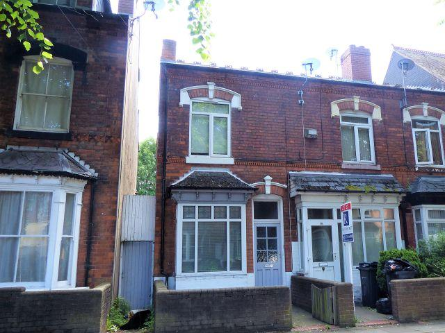 2 Bedrooms End Of Terrace House for sale in Somerset Road,Handsworth Wood,Birmingham