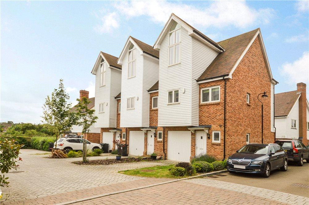 3 Bedrooms End Of Terrace House for sale in Havillands Place, Wye, Ashford, Kent