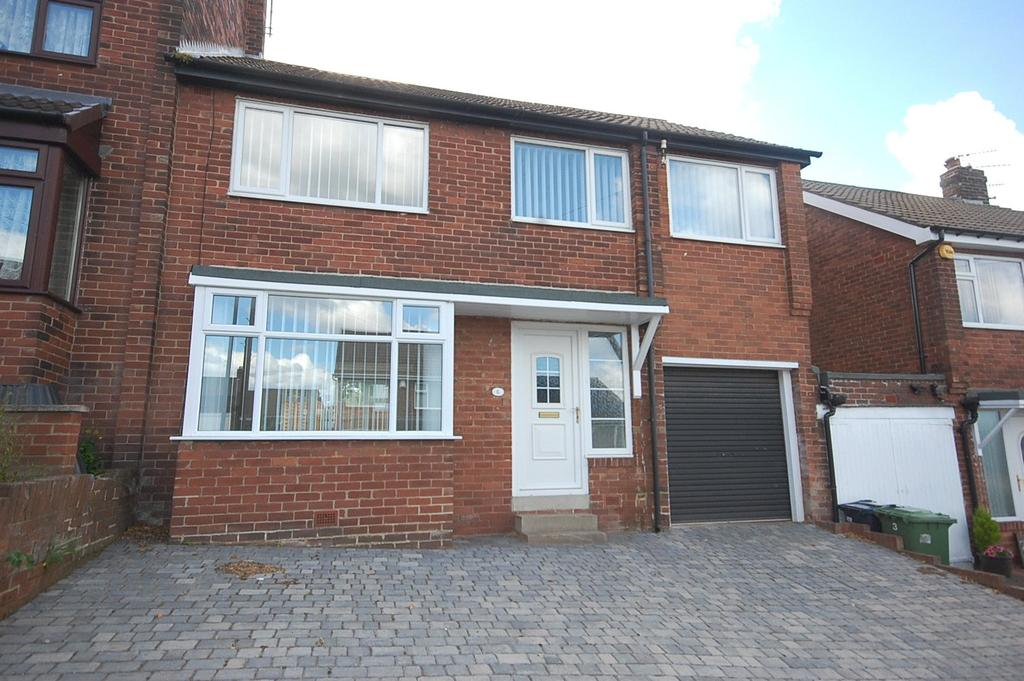 4 Bedrooms Semi Detached House for sale in Swalwell