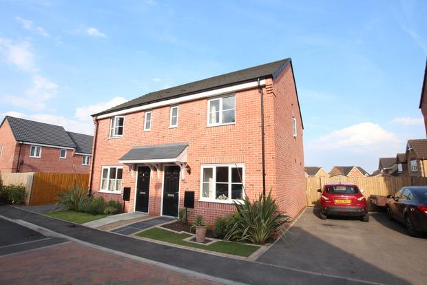 3 Bedrooms Semi Detached House for sale in Mason Road, Melton Mowbray, LE13