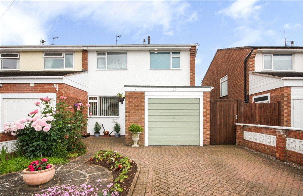 3 Bedrooms End Of Terrace House for sale in Bronsil Close, Worcester, Worcestershire, WR5
