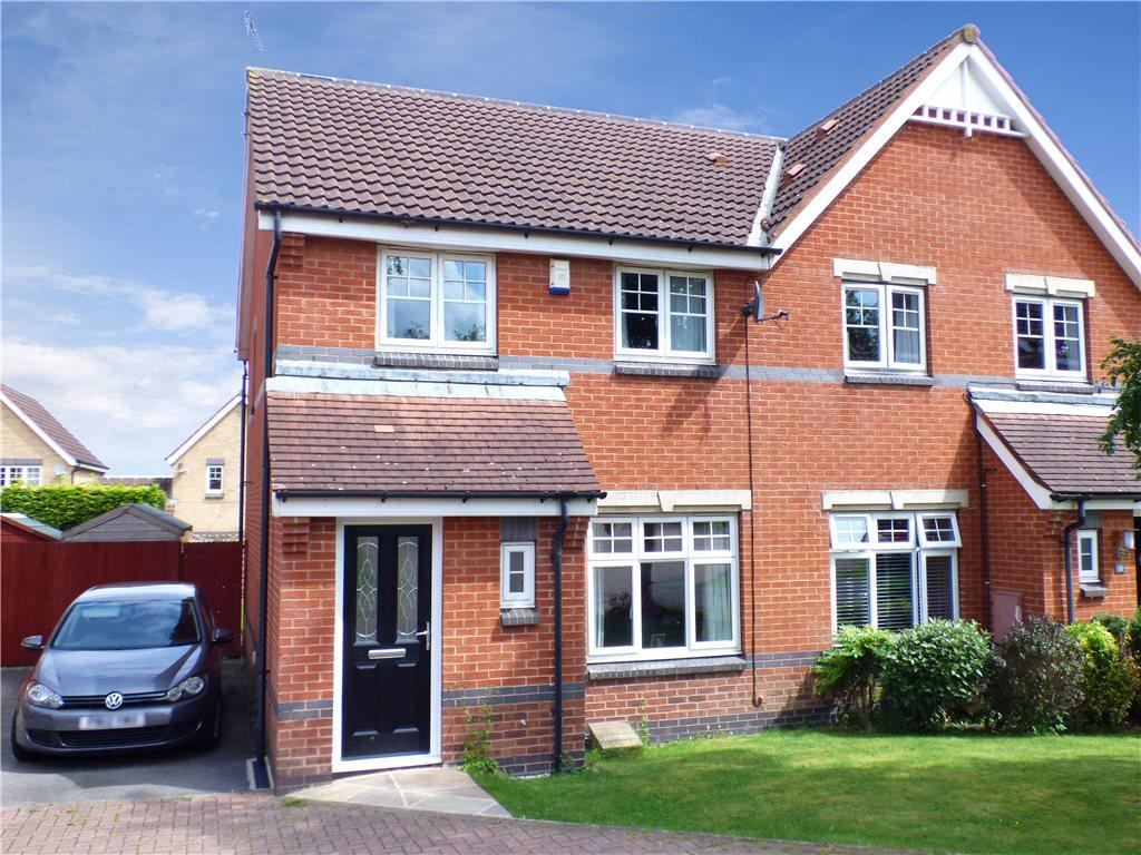 3 Bedrooms Semi Detached House for sale in Angelica Close, Killinghall, Harrogate, North Yorkshire