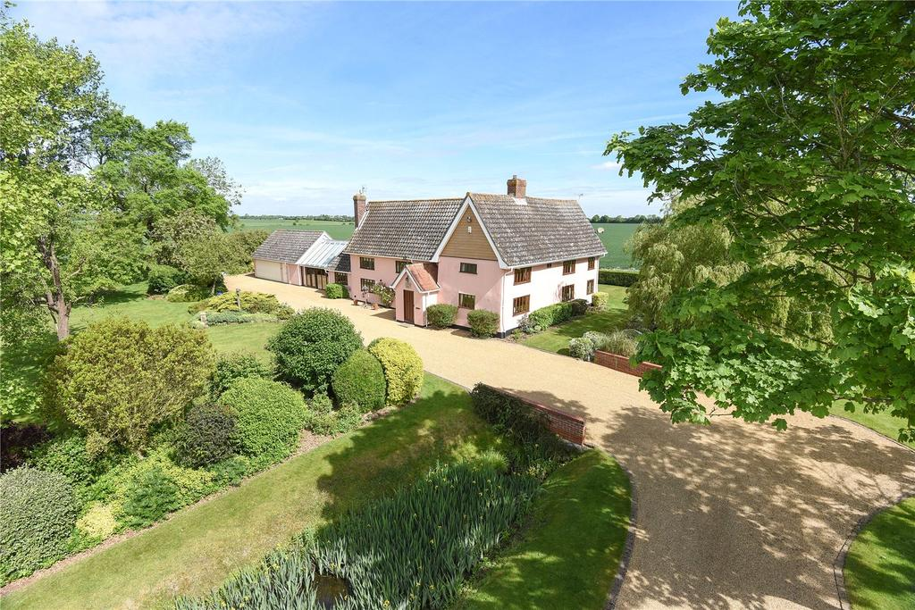 4 Bedrooms Detached House for sale in Fir Tree Lane, Haughley Green, Stowmarket, Suffolk, IP14