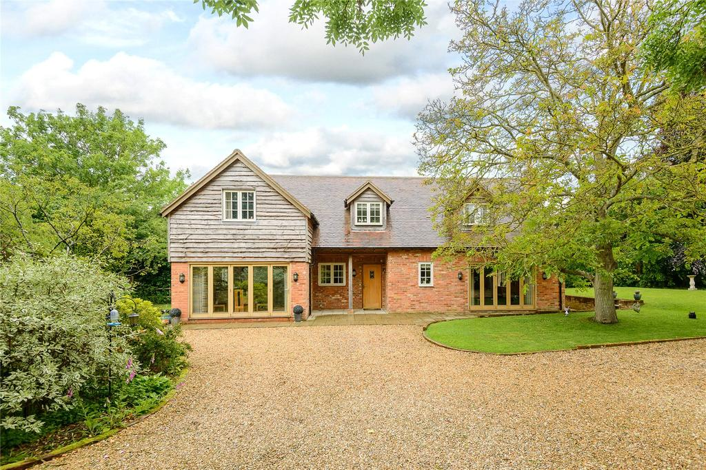 4 Bedrooms Detached House for sale in Hook Road, North Warnborough, Hook, Hampshire