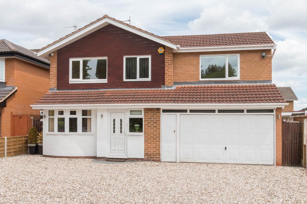 4 Bedrooms Detached House for sale in Prospect Lane, Solihull, West Midlands