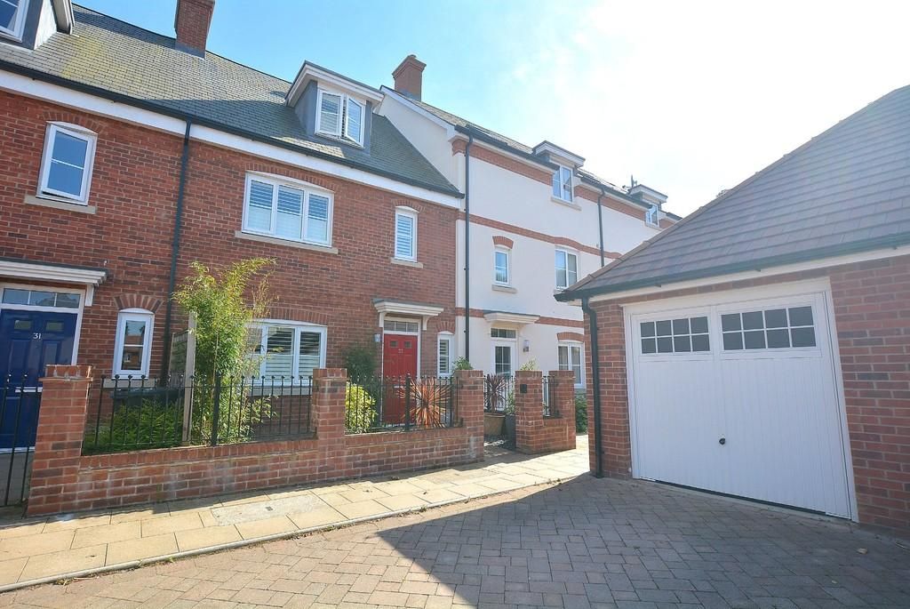 4 Bedrooms Terraced House for sale in Tarrant Close, Wimborne