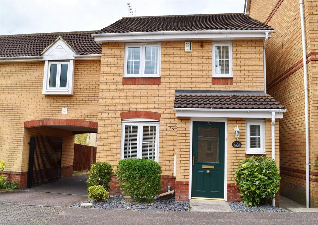3 Bedrooms End Of Terrace House for sale in Avery Close, Leighton Buzzard
