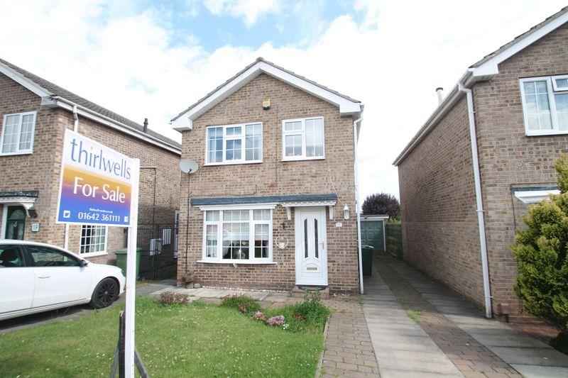 3 Bedrooms Detached House for sale in Sacriston Close, Billingham