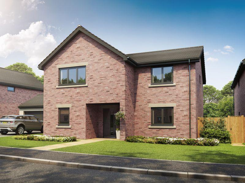 4 Bedrooms Detached House for sale in Plot 12 (Sandringham), Langwathby Hall Farm, Langwathby, Penrith