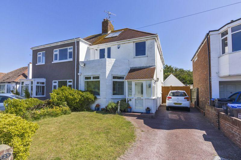 3 Bedrooms Semi Detached House for sale in Western Road, Lancing