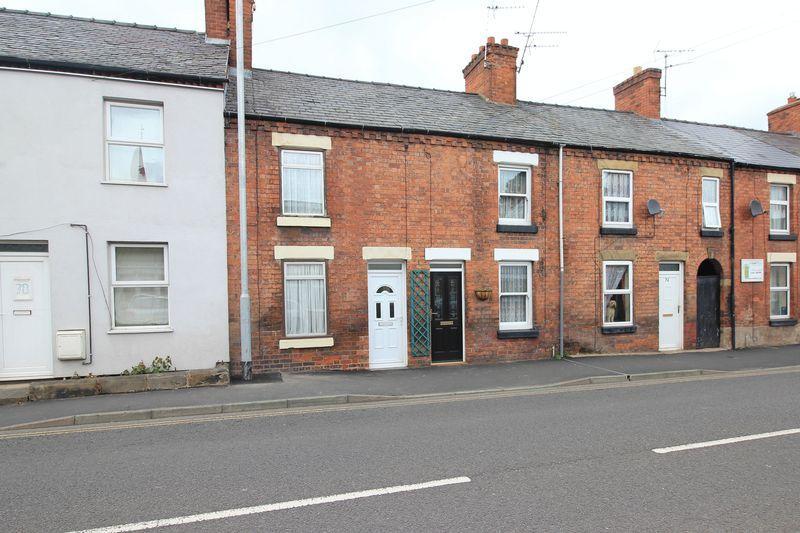 2 Bedrooms Terraced House for sale in Castle Street, Oswestry